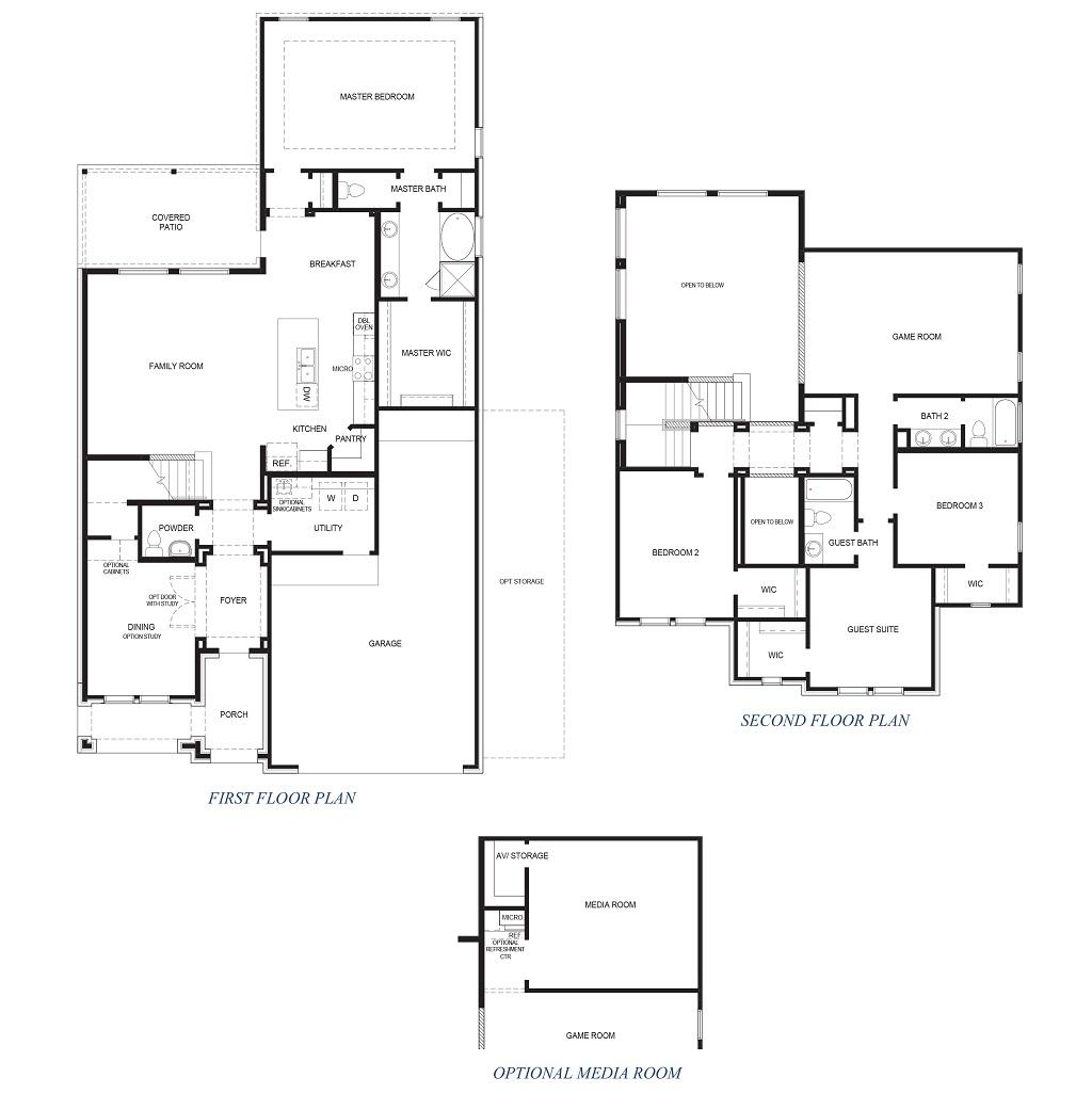 D.R. Horton Floor Plan 2982 Chloe