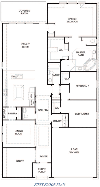 2268 Palestine Floor Plan