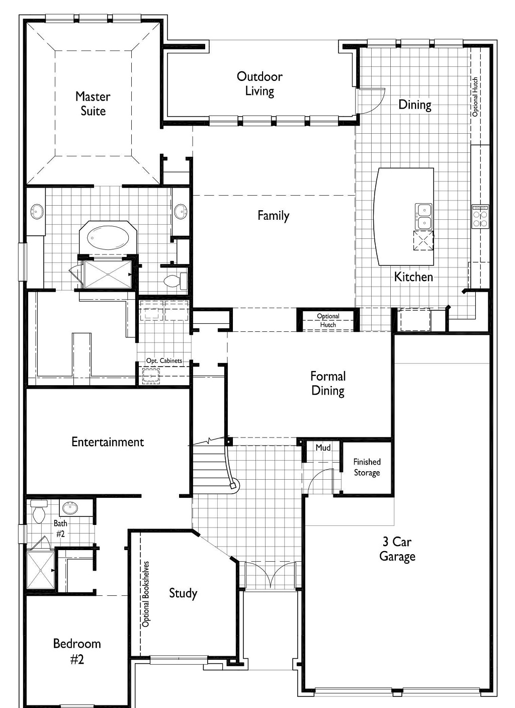 Harvest Green Highland Homes Floor Plan 222