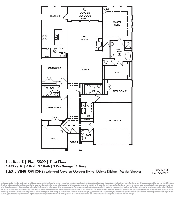 Denali 5569 Floor Plan