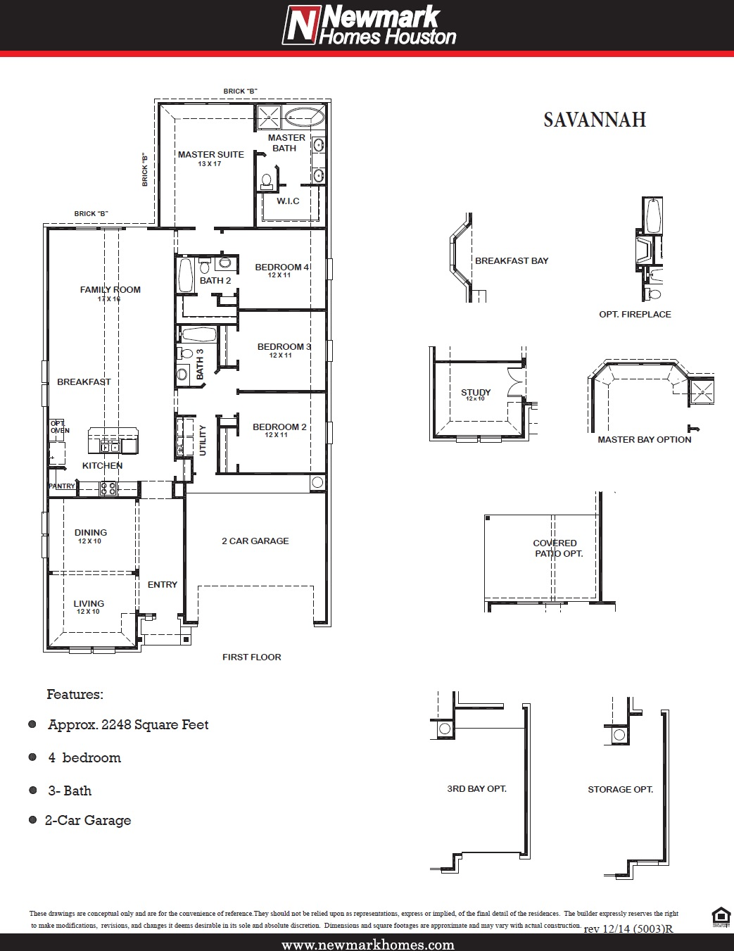 5003 Savannah Floor Plan