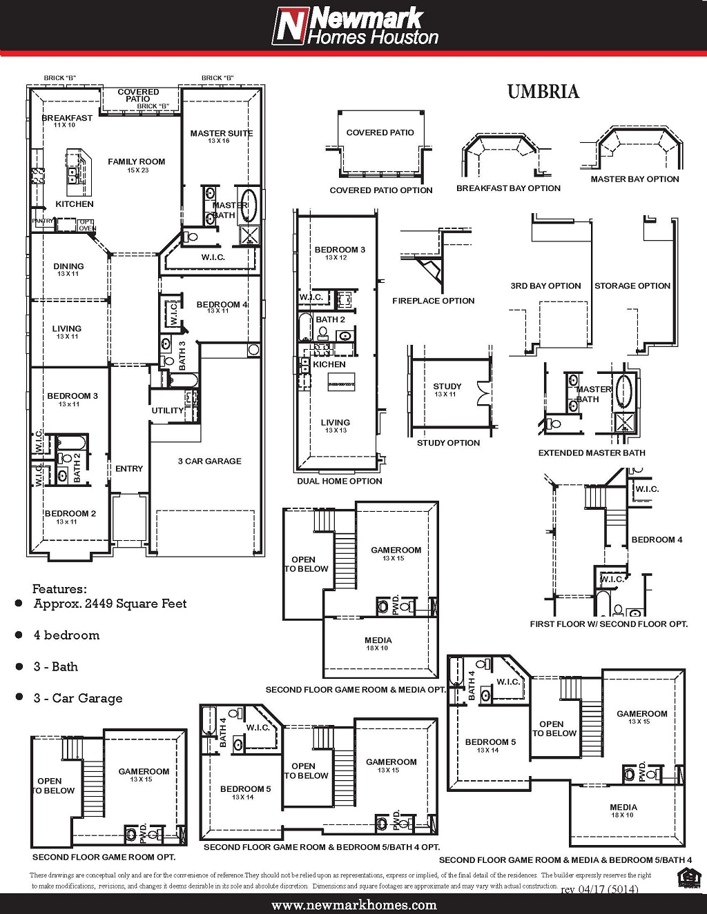 5014 Umbria Floor Plan