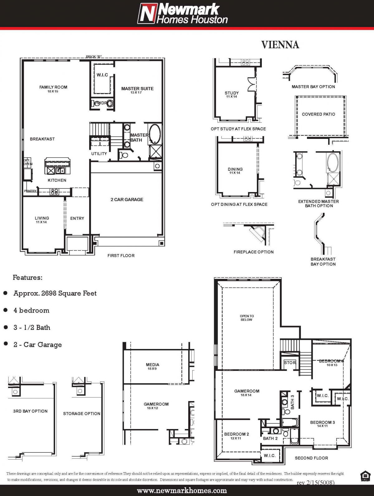 5008 Vienna Floor Plan