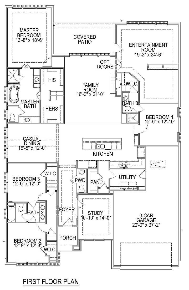 Trendmaker Homes Floor Plan Carada F712