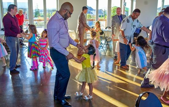 Daddy Daughter Dance Raises $300 for Camp