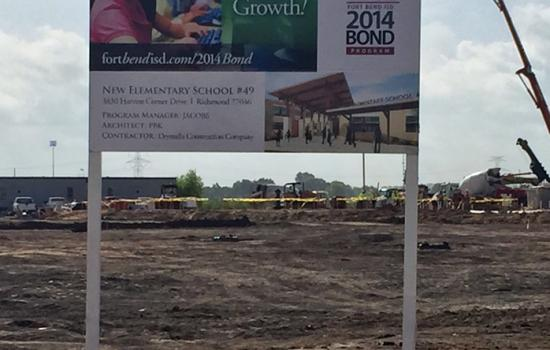 Fort Bend ISD Takes Nominations for New Harvest Green School