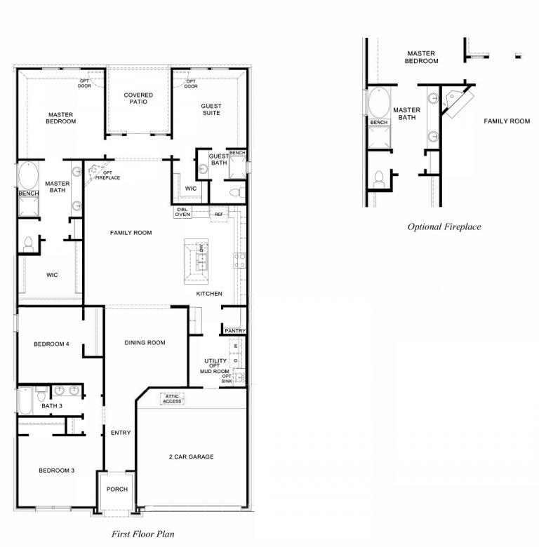 Harvest Green D R Horton Floor Plan 2373 Dickinson