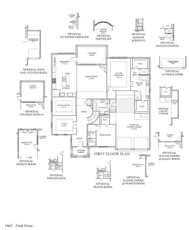 Harvest Green Darling Homes Floor Plan 7447