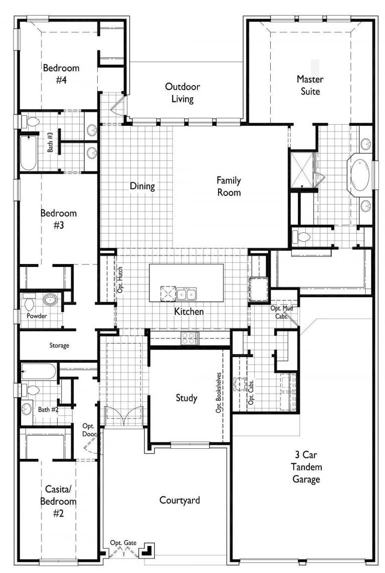 Highland Homes Floor Plan