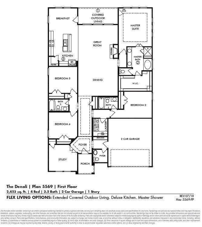 Denali Floor Plan