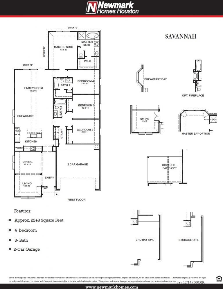 Savannah Floor Plan