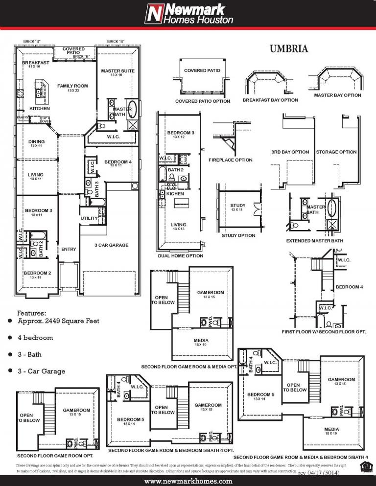 Umbria Floor Plan