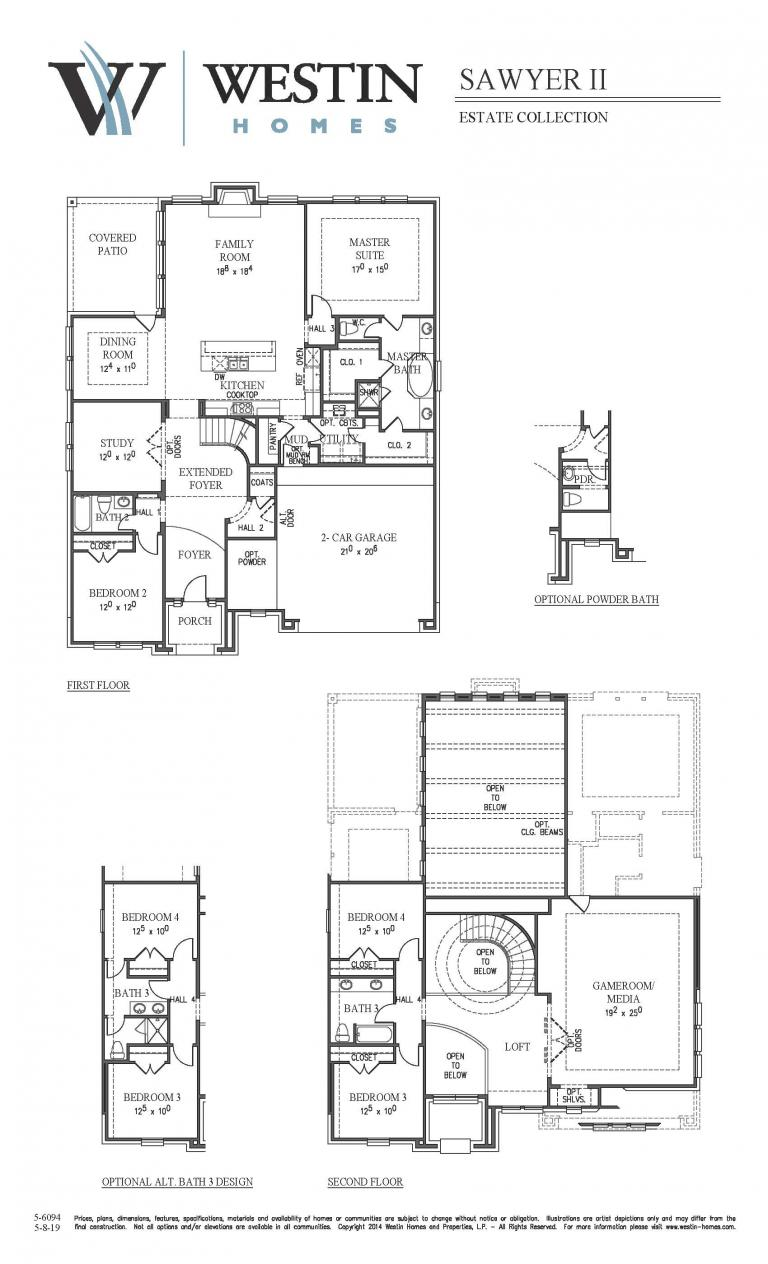 Sawyer II Floor Plan