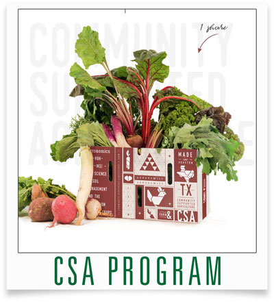 Harvest Green CSA Program