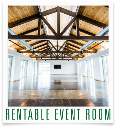 Harvest Green Rentable Event Room