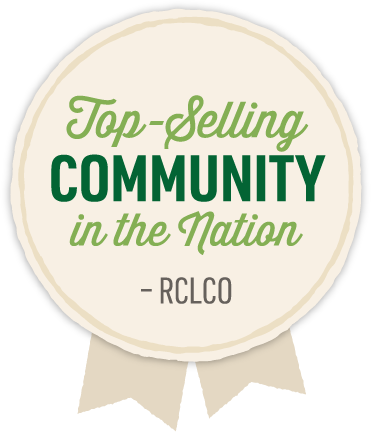 Top-Selling Community in the Nation